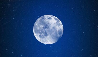 Fototapete - Full Blue Moon