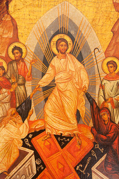 resurrection of Jesus Christ icon, Anastasis