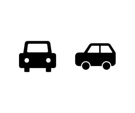 車のアイコンのセット/ベクター/イラスト