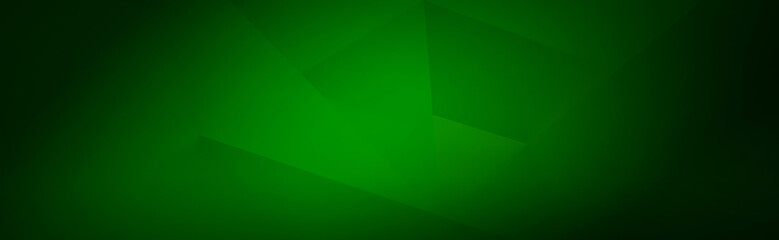 Green background for wide banner, design template