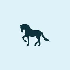 Wall Murals Panther Animal horse logo vector design templates