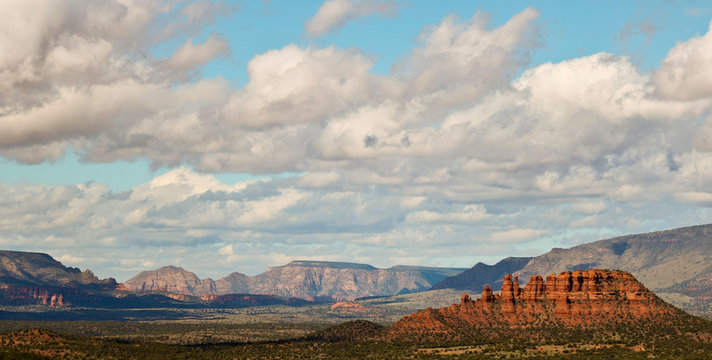 A View of the Cockscomb Looking West, Sedona, AZ, USA