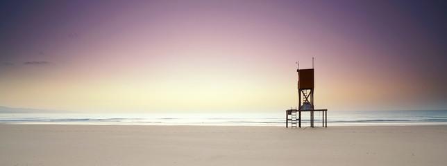 morgens an der Küste Fototapete
