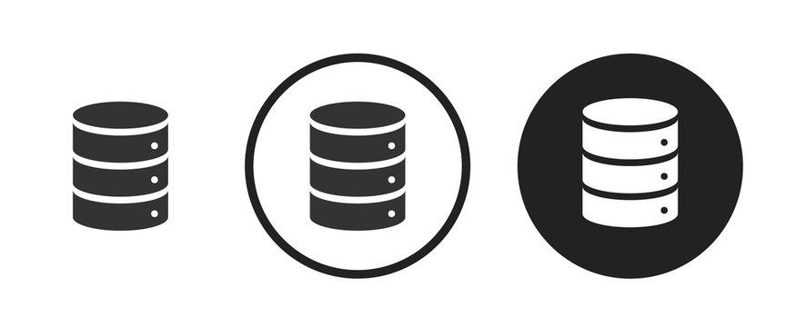 Database icon . web icon set .vector illustration
