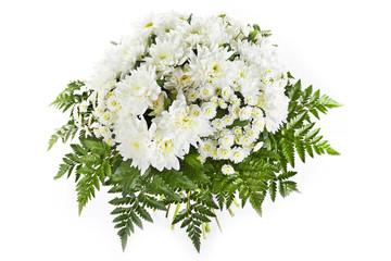 Photo sur Toile Muguet de mai Pastel colors wedding bouquet isolated on white