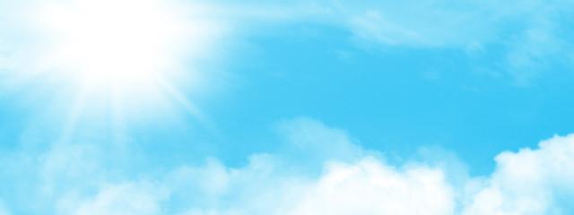 Abstract wide sky backdrop Fotobehang