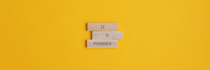 It is possible sign