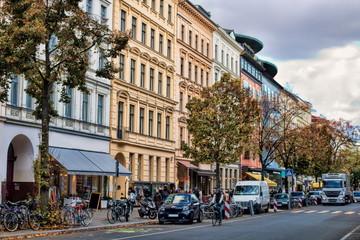 Fotomurales - berlin, deutschland - bergmannstraße in kreuzberg
