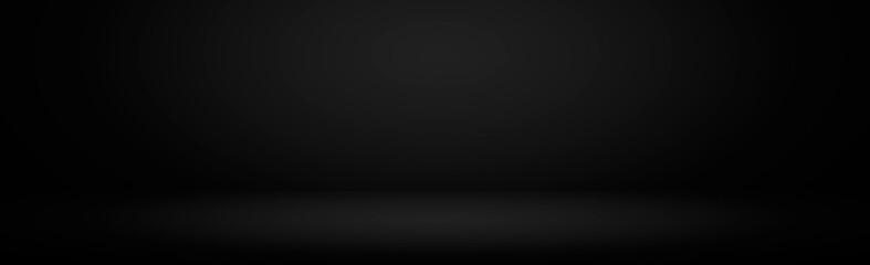 Black background studio