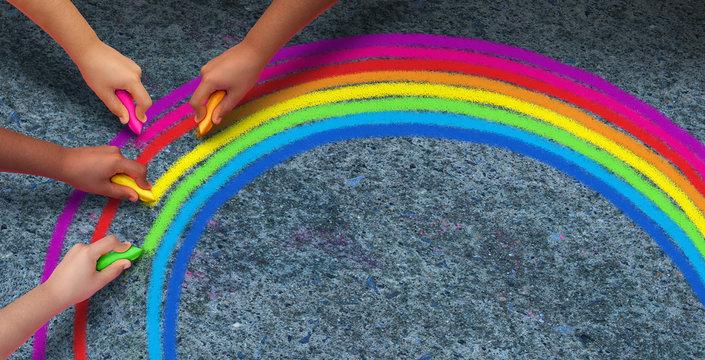 Hope Rainbow Concept
