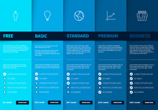 Product Version Features Blue Schema Layout