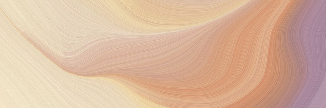modern colorful designed horizontal header with tan, rosy brown and wheat colors. graphic with space for text or image. can be used as header or banner