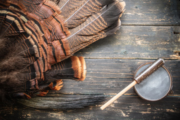 Eastern Wild Turkey Hunting Background
