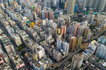 Fototapete - Hong Kong city