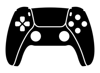 Next generation game controller or gamepad flat vector icon for gaming apps and websites Fototapete