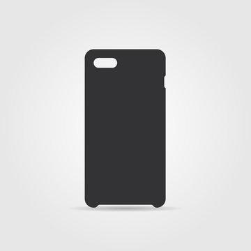 Blank phone case. Vector
