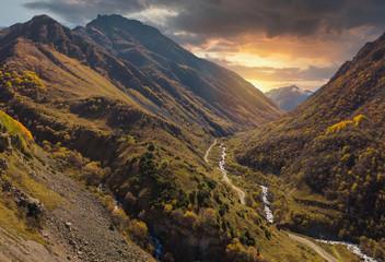 Foto auf Gartenposter Gebirge mountains of the Caucasus.