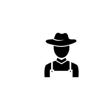 farmer icon vector