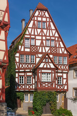 Wall Mural - Historical  house in Bad Wimpfen, Germany