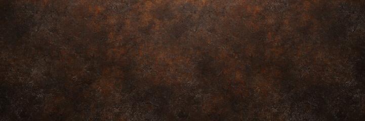 Rostiges Metall als Grunge Hintergrund Textur Struktur Fototapete
