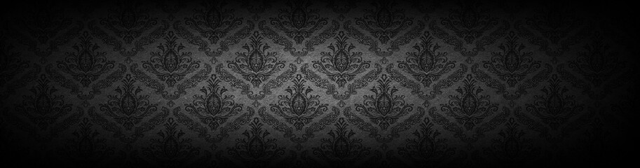 Foto auf Acrylglas Retro baroque wallpaper background