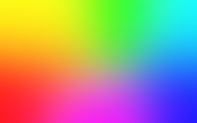 Multicolor rainbow blurred gradient background. Abstract bright colorful background