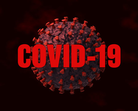 coronavirus COVID-19 virus concept visualization