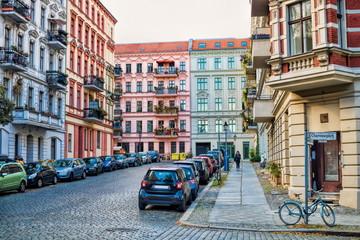 Fotomurales - berlin, deutschland - wohnviertel am chamissoplatz in kreuzberg