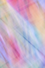 Vibrant Abstract Photographed Multicoloured Blurred Background