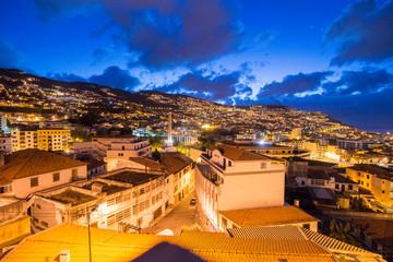 PORTUGAL MADEIRA FUNCHAL CITY Fototapete
