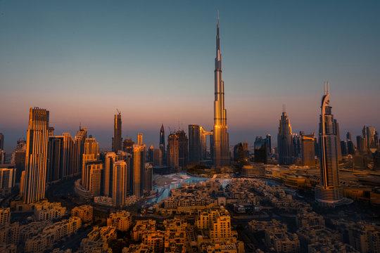 Burj Khalifa Sunrise
