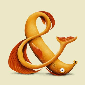 Orange Fish - Ampersand