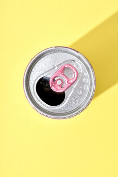 Can with Pink Pull Tab