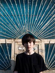 Stylish portrait of a teenager