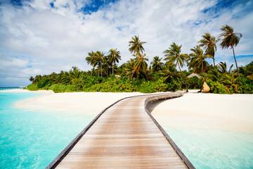 Wall Mural - Beautiful tropicalisland at Maldives