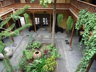 Photo sur Plexiglas Olive patio
