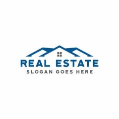 Roof logo icon symbol for real estate logo design vector