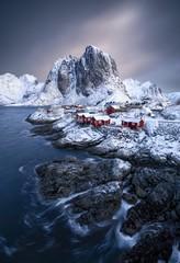 Obraz Lofoten Islands in Norway - fototapety do salonu