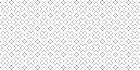 vector background of diamond shaped metal fence mesh Fotomurales