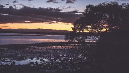 Fototapeta Scenic View Of Sea Against Sky At Sunset