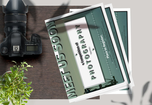 Modern Photography Flyer Layout