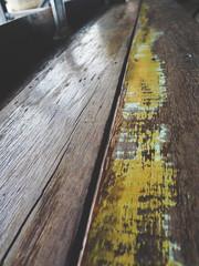 Wall Mural - Brown wood floor background