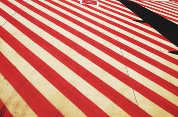 Fototapeta Close-up Of Striped Street