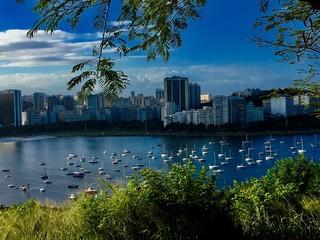 Foto op Aluminium Kuala Lumpur Scenic View Of Cityscape Against Sky