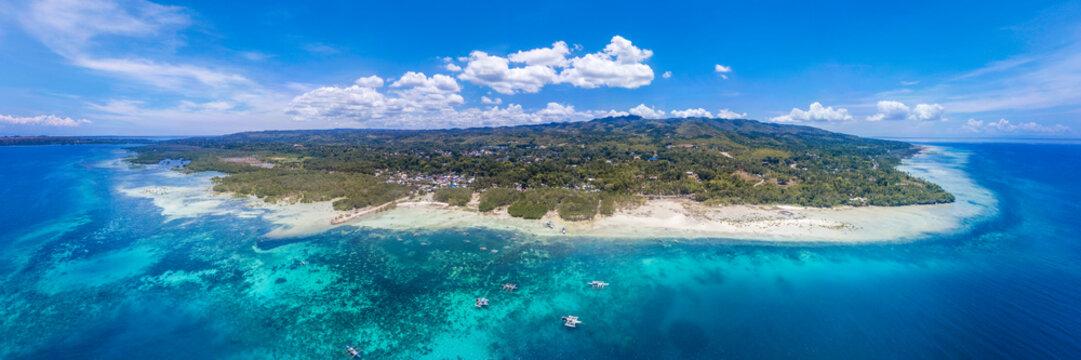 Panoramic view of Bohol Coastline (Loon, Bohol)