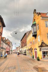 Fototapete - Helsingor landmarks, Denmark