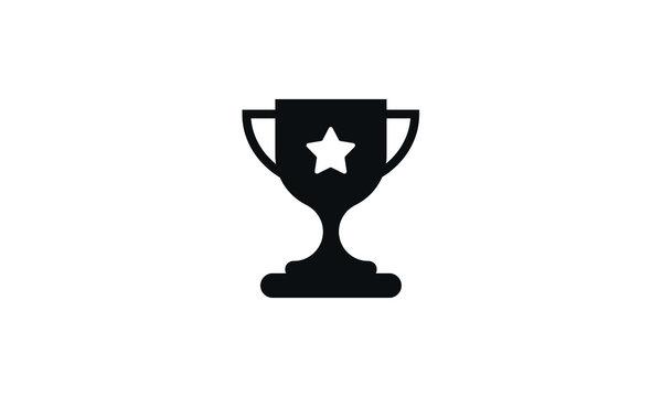 Trophy icon vector ,Trophy logo illustation