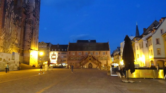 Mulhouse is a city on the french-Swiss border