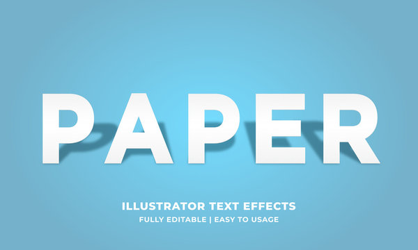 White Paper Text Effect