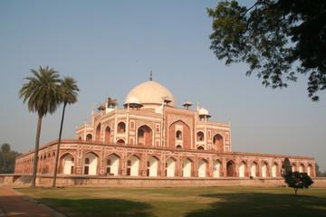 Autocollant pour porte Delhi tombeau de humayun